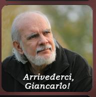 Arrivedeci, Giancarlo!